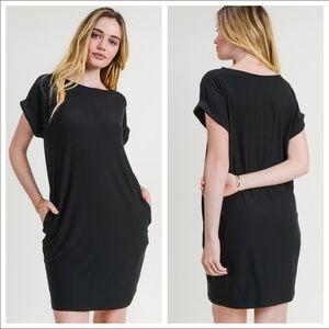 T-Shirt dress with pockets